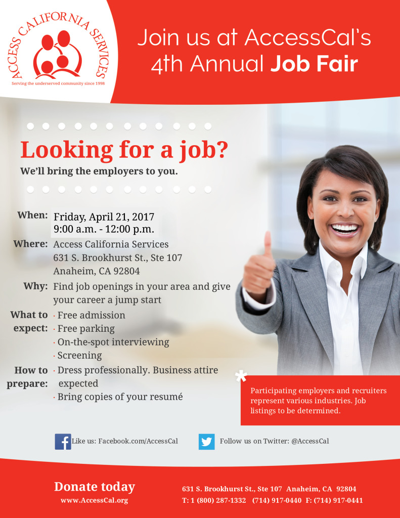 4th Annual Job Fair