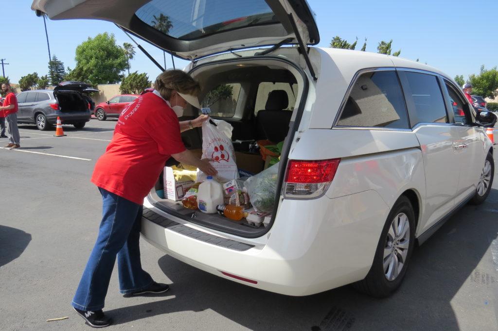 Drive-Thru Food Distribution 2020