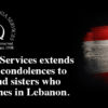 Our statement on the tragedy in Beirut, Lebanon